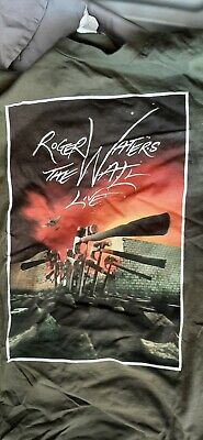 £14.38 • Buy Roger Waters The Wall Live 2012 Tour T-Shirt (Size Large) B7 Pink Floyd Vintage