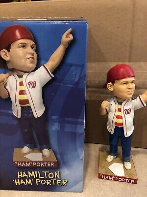 $ CDN101.50 • Buy 2018 Washington Nationals Ham Porter  Hambino  Sandlot Movie Sth Sga Bobblehead