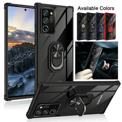 $ CDN6.58 • Buy For Samsung Galaxy S20 Ultra S10 S9 S8 Plus Magnetic Car Ring Holder Case Cover