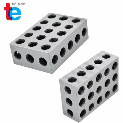 $72.22 • Buy New 1 Matched Pair 2-4-6 Blocks 23 Holes  .0006  Machinist 246 Jig