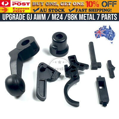 AU52.49 • Buy GJ AWM M24 98K Upgrade Metal Parts Pull Bolt For GangJiang Modified Gel Blaster