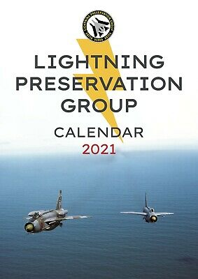 £14 • Buy English Electric Lightning, A3 Size LPG Official 2021 Calendar