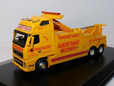 Oxford Diecast Volvo Fh Recovery Truck Albert Road Recovery 1/76 Vol01rec • 27.95£