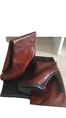 Vintage GUCCI Leather Boots 6.5UK • 60£