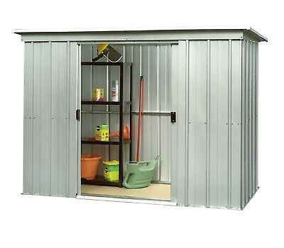 326 Returned Yardmaster Pent Metal Garden Shed - Max External Size 6'6 X 3'11  • 119.99£