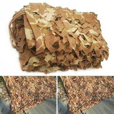 Desert Camouflage Woodland Military Camo Netting Hide Hunting Camping Net Cover • 12.15£