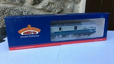 BACHMANN 39-274 OO Gauge BR Mk1 GUV InterCity Motorail Blue & Grey Coach Boxed • 26.99£