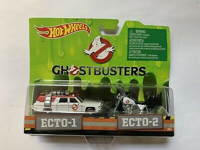Hot Wheels Classic Ghostbusters Ecto-1 And Ecto-2 Die-Cast Vehicles • 8.68£