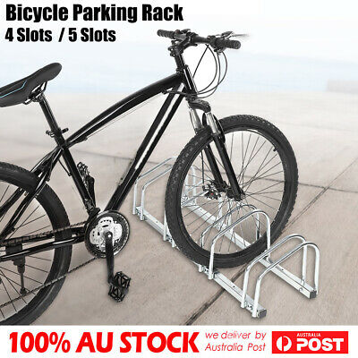 AU76.85 • Buy 1 ~ 5 Bike Floor Parking Rack Instant Storage Stand Bicycle Cycling Portable