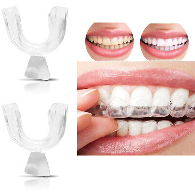 AU8.74 • Buy 8pcs Silicone Night Mouth Guard Teeth Clenching Grind Dental Bite Sleeping Care