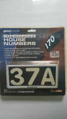 Glowtronix Illuminated House Numbers • 7£