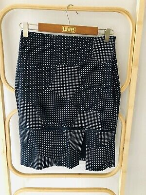 AU35.50 • Buy KATE SPADE Saturday | Sz 0 AU 6 | Star Print Pencil Skirt | Adjustable Length
