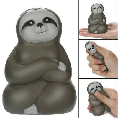 AU6.78 • Buy Adorable Squishies Soft Sloth Slow Rising Fruit Scented Stress Relief Toys Gifts