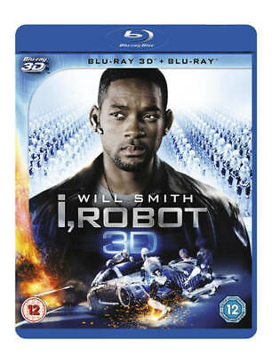 I, Robot Blu-ray (2013) Will Smith, Proyas (DIR) Cert Tc FREE Shipping, Save £s • 5.82£