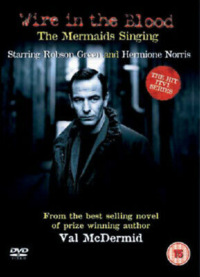 Wire In The Blood: Mermaids Singing DVD (2008) Robson Green Cert 15 Great Value • 2.02£