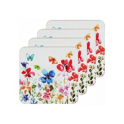 £5.50 • Buy Butterfly Meadow Coaster Set Of 4, Home Accessories, Tableware, Gifts LP94344