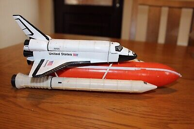 Vintage Realtoy Diecast NASA Atlantis Space Shuttle Boxed • 5£