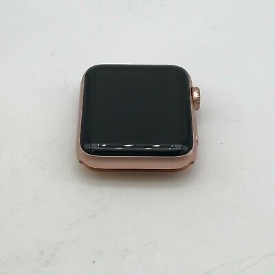 $ CDN254.69 • Buy Apple Watch Series 3 Cellular Gold Sport 42mm No Band Good Condition