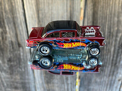 $26 • Buy Hot Wheels 2018 Collector Edition '55 Chevy Bel Air Gasser Real Riders