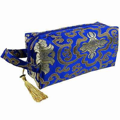 AU31.42 • Buy Womens Small Make-up Travel Bag By Danielle Brocade Collection Toiletries