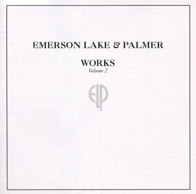 Emerson Lake And Palmer : Works Volume 2 CD Incredible Value And Free Shipping! • 9.09£