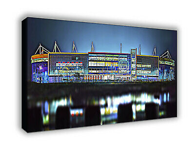 £21 • Buy Leicester City King Power Stadium Stylized Picture Wall Canvas Print Art 64x41cm