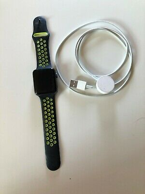 $ CDN54.96 • Buy Apple Watch Series 2 42mm Aluminum Case Nike Sport Band - Good Condition