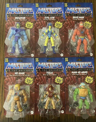 $129.95 • Buy 2020 Masters Of The Universe Origins Complete Set Of 6 Figures He-Man