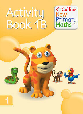 Collins New Primary Maths. Activity Book 1B By Peter Clarke (Paperback) • 3.02£