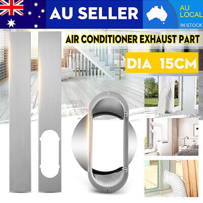 AU16.87 • Buy 2X Window Slide Kit Plate / 15CM Window Adaptor For Portable Air Conditioner New