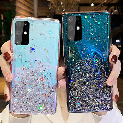 $ CDN3.91 • Buy For Samsung Galaxy S20 Ultra S10 S9 S8 Plus Glitter Crystal Silicone Case Cover