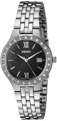 Seiko Ladies Stainless Steel Watch SUR761P9 NEW • 69.99£