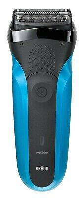 £29.89 • Buy Braun Series 3 310s Wet & Dry Cordless Electric Shaver For Men - Black/Blue A