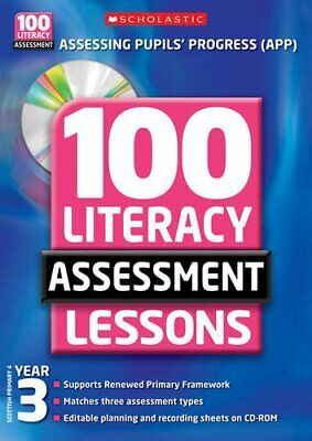 £7.30 • Buy 100 Literacy Assessment Lessons - Year 3 Compact Disc Gillian Howell