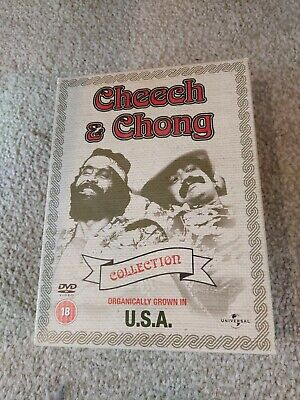 Cheech And Chong DVD Collection Organically Grown In U.S.A 5 Film Bundle • 9.99£