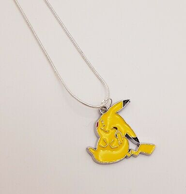 New Pokemon Pikachu Necklace Gamer Gift Anime Cosplay Gift • 2£