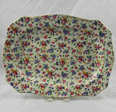 $ CDN112.42 • Buy Royal Winton Grimwades Old Cottage Chintz Serving Platter 13  X 10  England