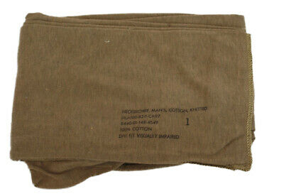 $9.99 • Buy GI Military Brown Neckerchief Scarf Face Mask Wrap Genuine Issue
