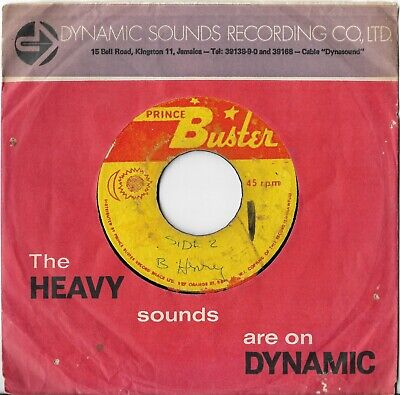 Big Youth/John Holt  Leave Your Skeng  1972 PRINCE BUSTER Reggae Vinyl 45 Mp3 • 19.50£