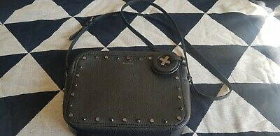 AU60 • Buy Mimco Leather Charmer Hip Bag Black As New  Sold Out Previous Season Rrp $200