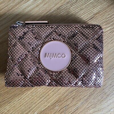 AU40 • Buy Mimco Mesh Pouch Rose Gold