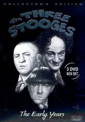 The Three Stooges: The Early Years DVD (2005) Larry Fine Cert U 3 Discs • 4.16£