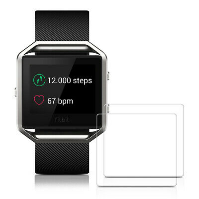 $ CDN11.99 • Buy 2x TEMPERED GLASS DISPLAY PROTECTOR FOR Fitbit Blaze CRYSTAL CLEAR FITNESS