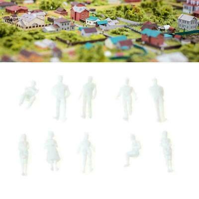$2.43 • Buy Multi-Scale Unpainted 1:50 Scale Architecture White Figures People Model H4 G8U0