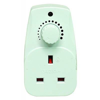 Plug In Dimmer Switch - Adjustable Control For Your Light / Lamp - 13A Socket • 7.99£
