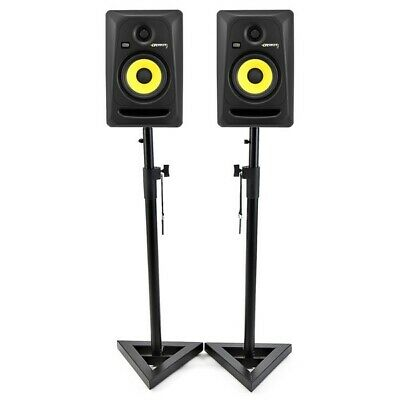 KRK Rokit 5 RPG2 Active Studio Monitors / Speakers. Nice Pair! With Stands • 260£