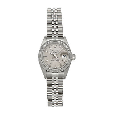 $ CDN4804.41 • Buy  Rolex Oyster Perpetual Date Auto 26mm Steel Ladies Jubilee Bracelet Watch 69240