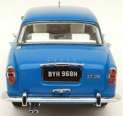 ROVER 3.5 LITRE P5B SALOON From 1972 In BLUE By MATRIX MX41706-111 In 1/43 'RHD' • 83£