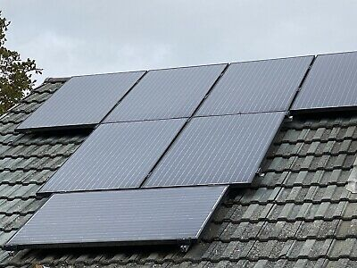 4KW Solar Panel System 16 Panels 250w Inverter,Roof Mounting Rails/Cables/Clamp • 899£