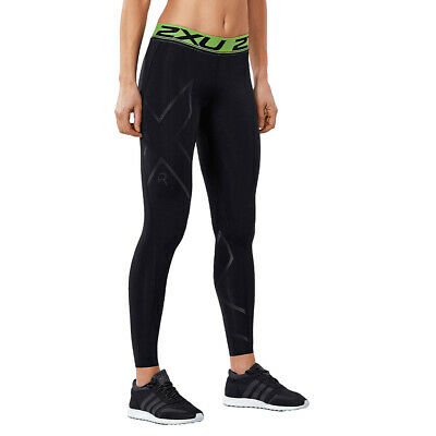 2XU Women's Refresh Recovery Compression Tights-Black/Nero RRP £95 • 59.99£
